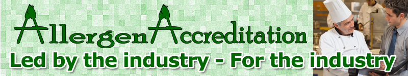 Allergen Accreditation is Led by the industry