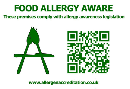 Allergen-Accreditation-Window-Sticker