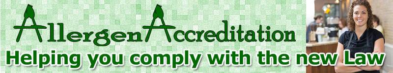 Allergen Accreditation helping you comply