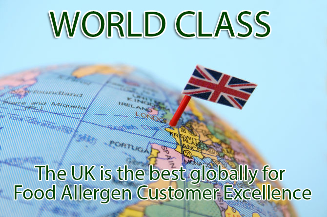 Food Allergen Customer Excellence