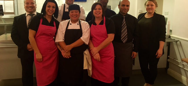 Allergy Aware Kitchen Staff at Chatham House