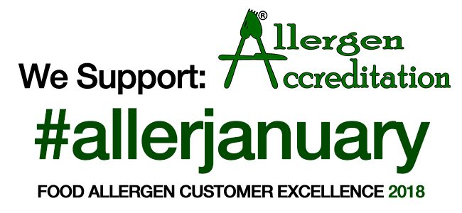 Allergen Aware month 2018 in Food Service