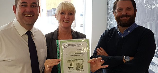 Well Done to Jacqui McPeake – Senior Allergen Advisor (Food Service)