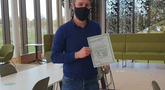 HIVE Allergen Accredited at Lancaster University